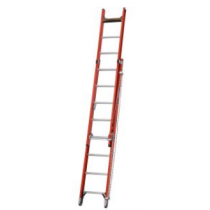 Werner Fibreglass Extension Ladder with Rope Lash
