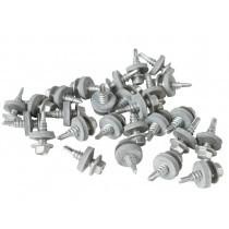 Pan Tile Profile - Metal Sheet Stitching Screws - 22mm - Pack of 100