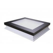 Fakro Flat Roof Window - Flat and Non-Opening - Passive Quadruple Glazing [DXF-D U8]