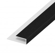 Soffit Board Wall Clip - 25mm - Anthracite Grey (5m)