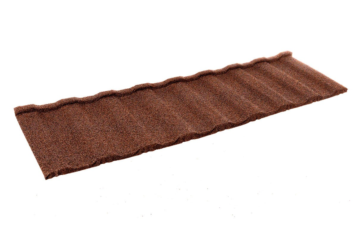 Britmet - Profile 49 - Lightweight Metal Roof Tile - Rustic Terracotta (0.45mm)