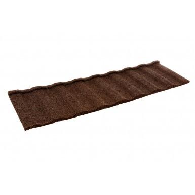 Britmet - Profile 49 - Lightweight Metal Roof Tile - Rustic Brown (0.45mm)