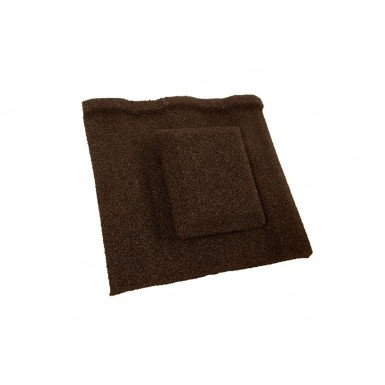 Britmet - Profile 49 - Air Vent Tile - Bramble Brown