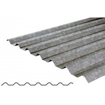 Galvanised Steel Box Profile Roofing Sheet (34/1000) - 0.5mm / 0.7mm