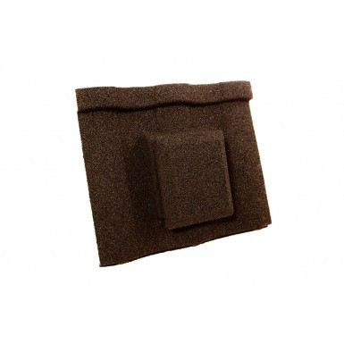 Britmet - Villatile - Air Vent Tile - Bramble Brown