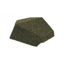 Britmet - Lightweight Metal Roof Shingle - Slimline End Cap 90 - Moss Green
