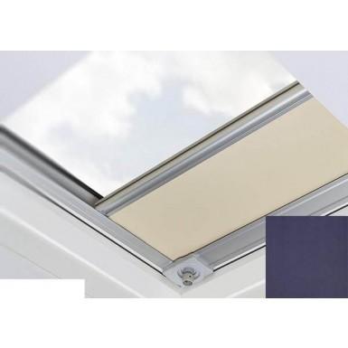 Fakro - ARF/D I 051 - Flat Roof Manual Blackout Blind - Midnight Blue