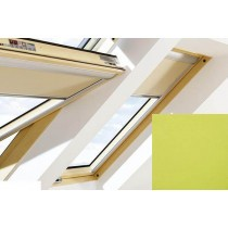 Fakro - ARF II 263 - Manual Blackout Blind - Lime Green