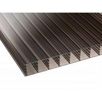 Corotherm 25mm - Sevenwall Polycarbonate Sheet - Bronze (2000x800x25mm)