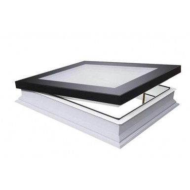 Fakro Flat Roof Window - Flat and Manually Opening - Energy Efficient Triple Glazing [DMF-D U6]