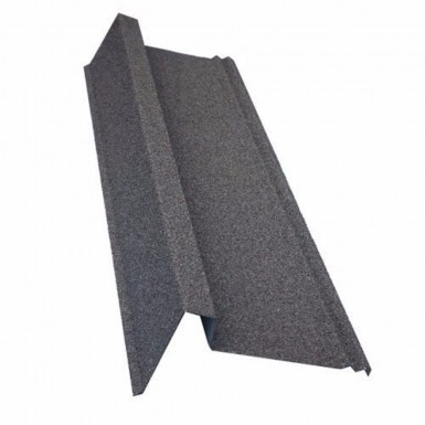 Corotile Lightweight Metal Roofing Sheet - Barge Cover - Charcoal (910mm)