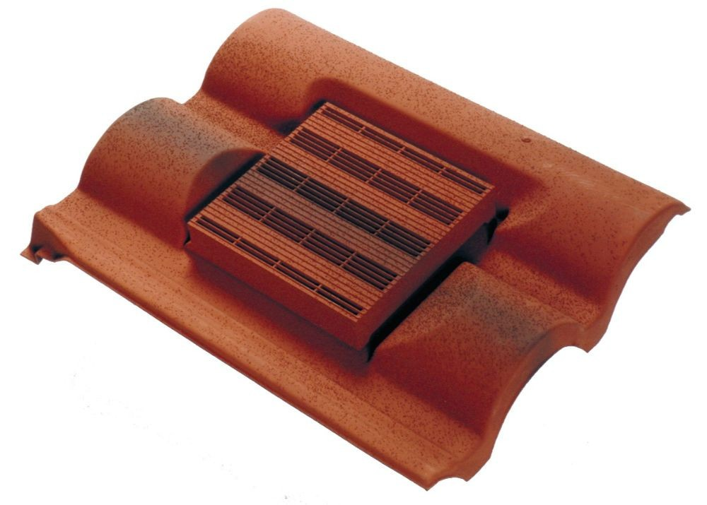 Corovent Roofline Vent For Slate And Interlocking Tiles With Felt Weir