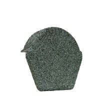 Lightweight Tiles - Granulated Ridge End Cap - Green