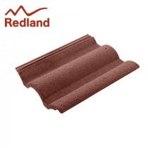 Redland Regent Tile - Concrete Tile - Granular Antique Red (3401)