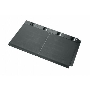 Envirotile - Double Plastic Tile - Grey (Pack of 10)