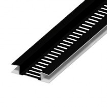 Soffit Board Ventilation Strip - 10mm - Black (5m)