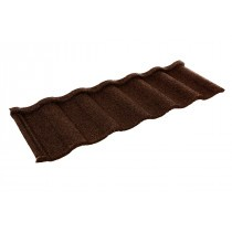 Britmet - Villatile - Lightweight Metal Roof Tile - Rustic Brown (0.45mm)