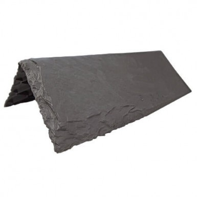 Tapco Aledora Slate - Ridge & Hip - Steel Grey