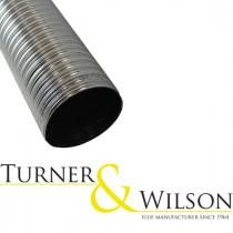 Turner & Wilson Flue/Chimney Liner - 904 Grade Stainless Steel - Per Linear Meter