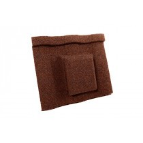 Britmet - Villatile - Air Vent Tile - Rustic Terracotta