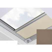 Fakro - ARF/D II 231 - Flat Roof Manual Blackout Blind - Cedar Brown