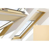 Fakro - ARF I 052 - Electrically Operated Blackout Blind (Z-Wave) - Tan