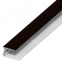Soffit Board Wall Trim - 30mm - Dark Brown (5m)