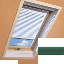 Fakro - AJP II 148 - Standard Manual Venetian Blind - Tartan Green