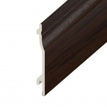 UPVC Shiplap Cladding Board - 150mm - Rosewood (5m)
