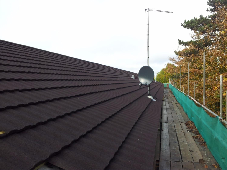 Britmet Profile 49 Lightweight Metal Roof Tile Moss