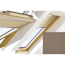 Fakro - ARF II 231 - Electrically Operated Blackout Blind (Z-Wave) - Cedar Brown
