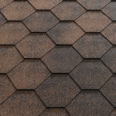 Katepal Jazzy Hexagonal Roofing Shingles - 3m2 Per Pack