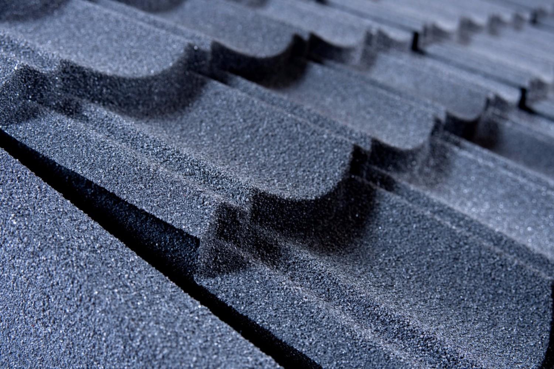 Corotile Lightweight Metal Roofing Sheet Ridge End Cap