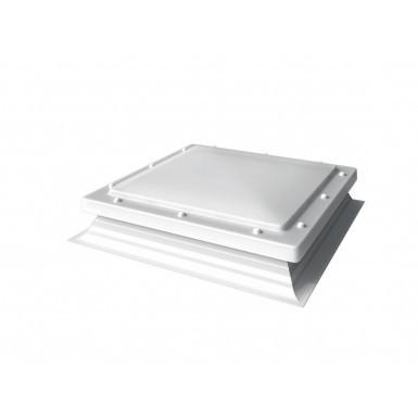 Mardome Hi-Lights - PVC Flat Roof Light - Opal
