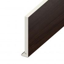 Fascia UPVC Board - Plain - Rosewood (5m)
