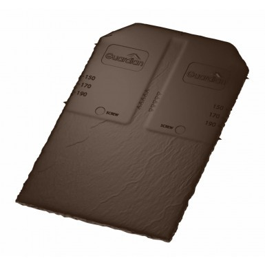 Guardian - Synthetic Slate Tile - Brown (Pack of 22)