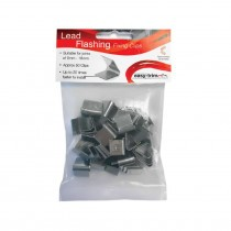 Lead Hall Clips - 6mm to 18mm - 50 Clips (Box of 10)