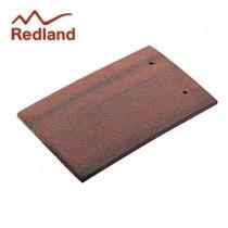 Redland Plain Eaves/Top Tile - Concrete Tile - Granular Antique Red