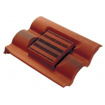 Corovent - Roofline Vent for Slate and Interlocking Tiles with Felt Weir
