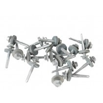 Metal Sheet to Steel Purlin TEK Screws (32mm - 175mm) - 100 Pack
