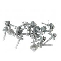 Pan Tile Profile - Metal Sheet to Steel Purlin TEK Screws (32mm - 175mm) - 100 Pack