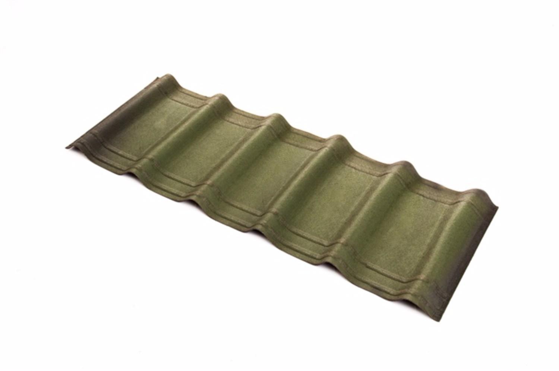 Onduvilla - Bitumen Roof Tiles - Shaded Green (2 18 m2 Coverage - Pack of 7)