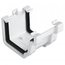 Plastic Guttering Universal Plus - Union Bracket - 128mm - Clay Brown