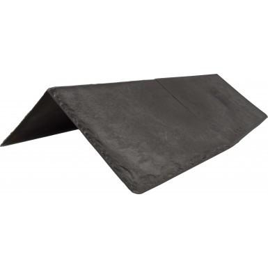 Tapco Synthetic Slate - Ridge & Hip - Pewter Grey