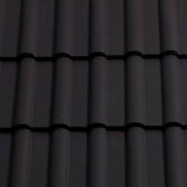 Sandtoft Double Roman - Concrete Tile - Smooth Dark Grey