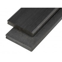 Solid Bullnose Composite Decking Board - 150mm x 25mm x 4m