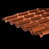 Pantile Effect Roofing Sheet (41/1000) - 0.6mm - Mica Coating