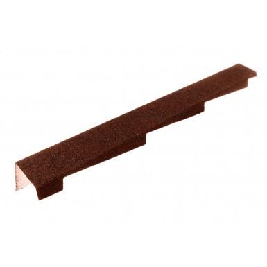 Britmet - Left Hand Barge - Rustic Terracotta (1250mm)