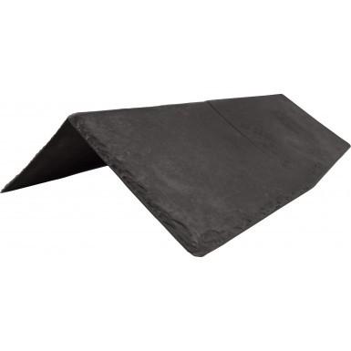 Tapco Synthetic Slate - Ridge & Hip - Stone Black