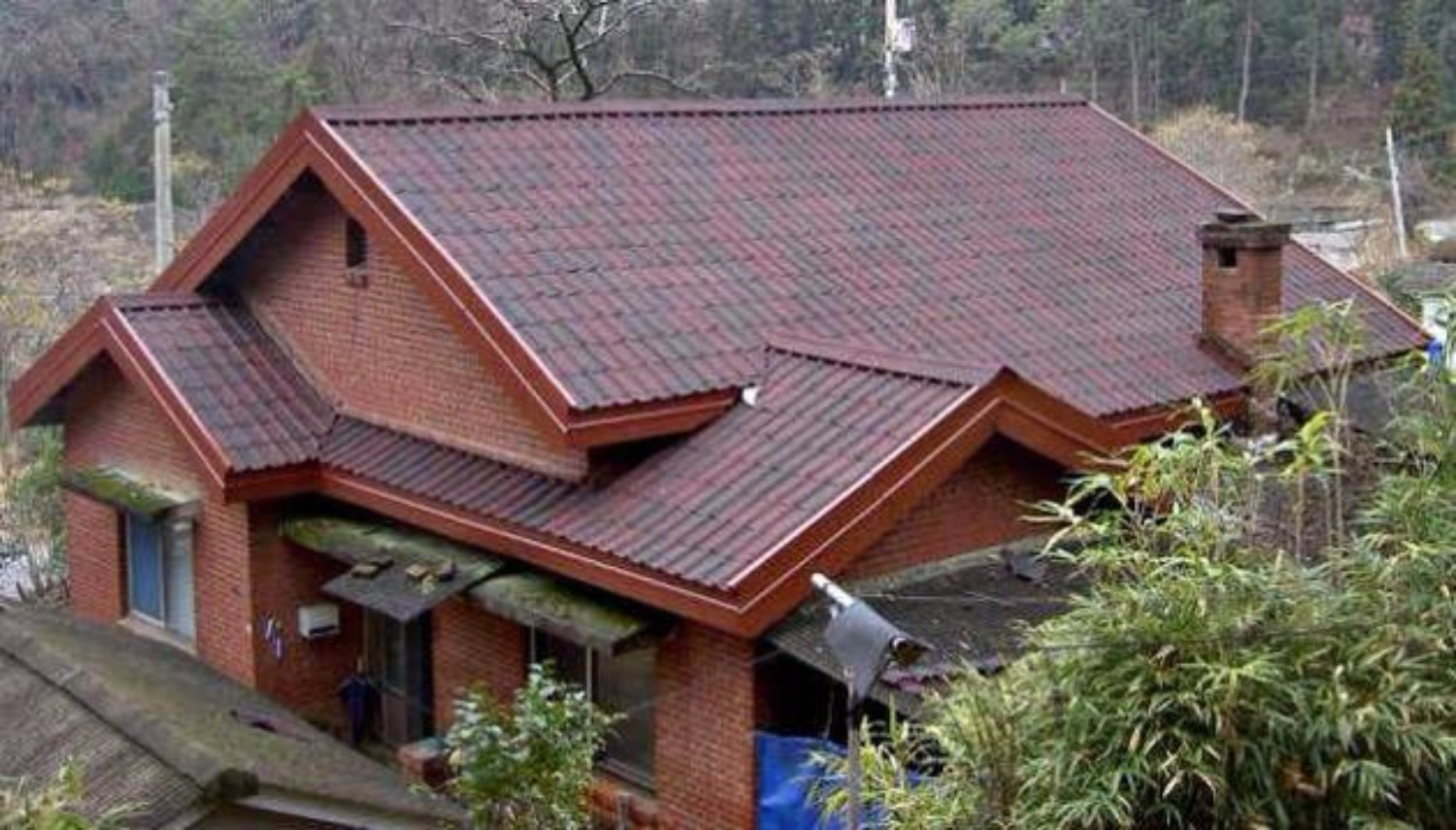 Onduvilla Bitumen Roof Tiles Shaded Brown 2 18 M2